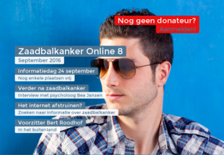 Zaadbalkanker Online september 2016